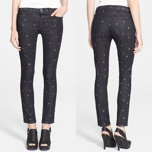 • Current/Elliott • Stiletto Jeans Black W/Stars